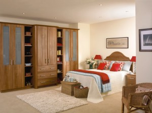 Bespoke Bedroom – traditional oak finish