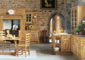 Traditional character oak fitted kitchen