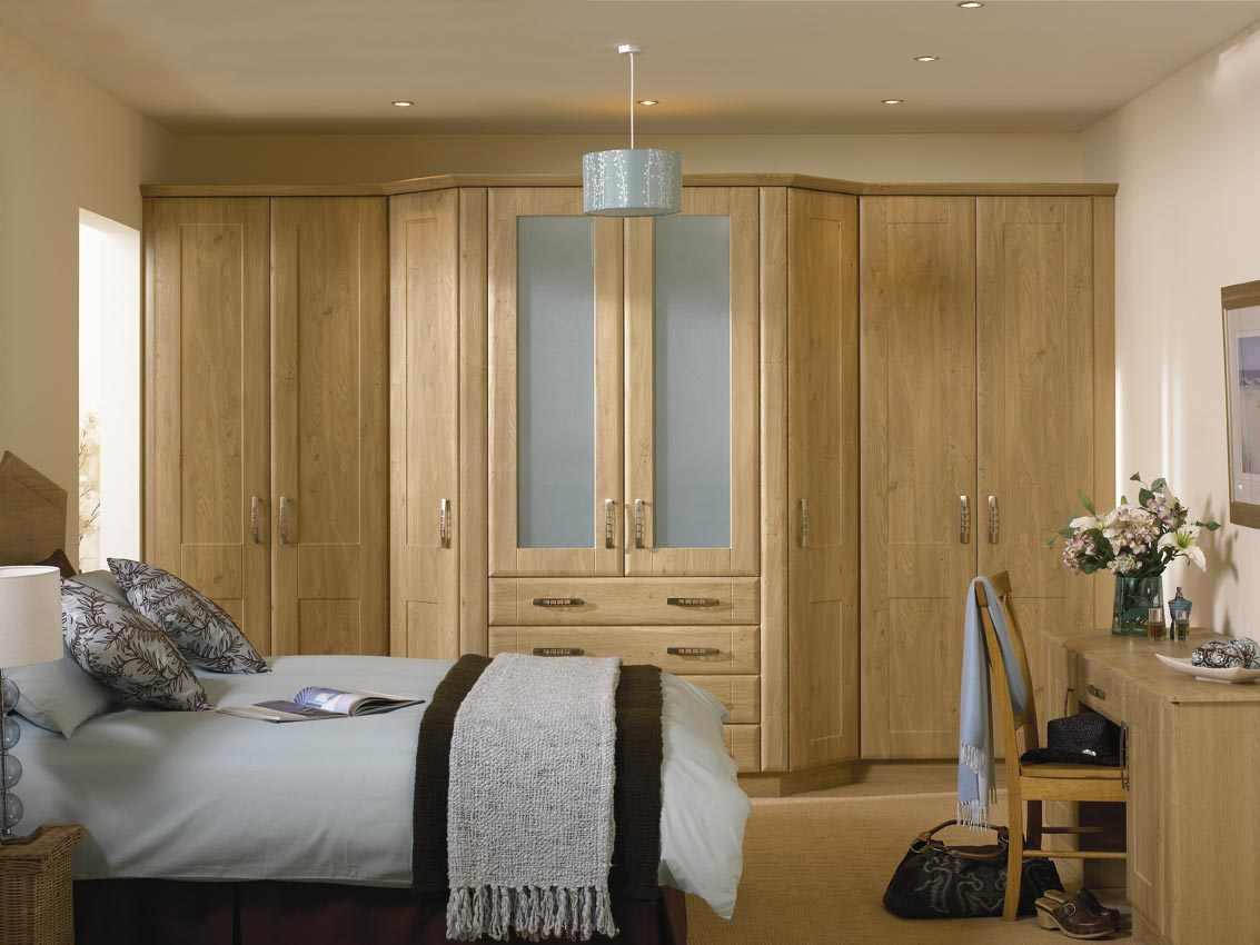 Ikea bedroom fitted wardrobes