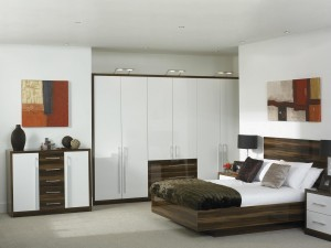 Modern fitted bedroom